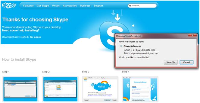Cara Membuat Akun Di Skype