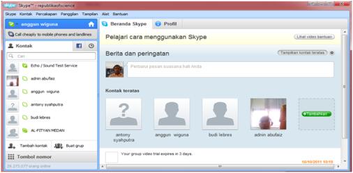 Free download, Cheat, Info, dll: Cara Membuat Akun Di Skype